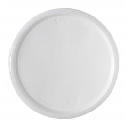 assiettes plastique plates 22cm micro ondable x50. Black Bedroom Furniture Sets. Home Design Ideas