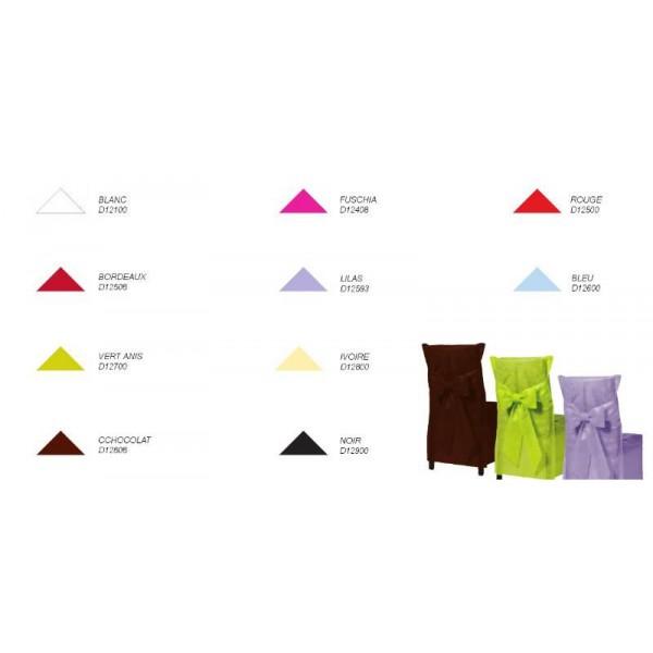 housse de chaise couleur blanc x6. Black Bedroom Furniture Sets. Home Design Ideas
