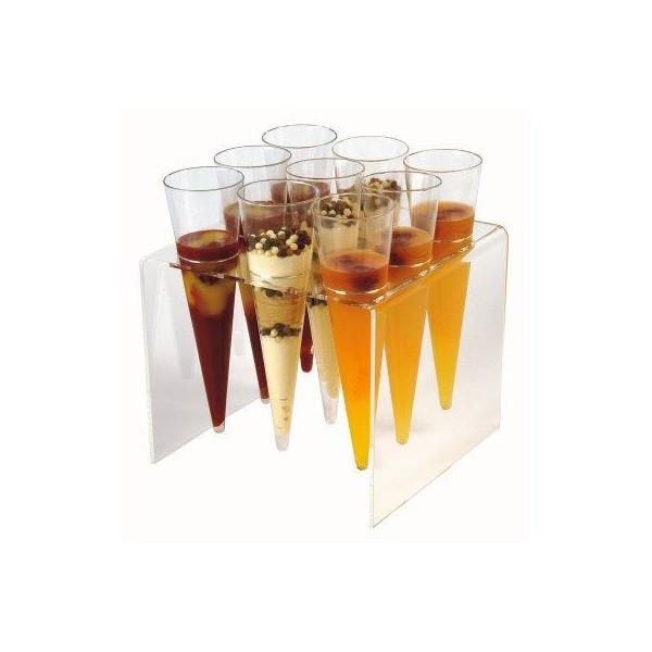 Verrine conique plastique x12 - Verrines en plastique casa ...