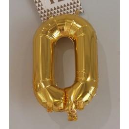 Ballon Alu Chiffre 0
