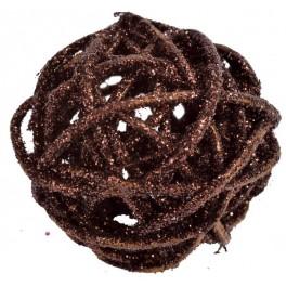 BOULES ROTIN CHOCOLAT (x10)