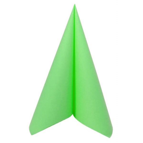 Serviettes voie seche vert pomme 40x40cm - Seche serviette 50 cm ...